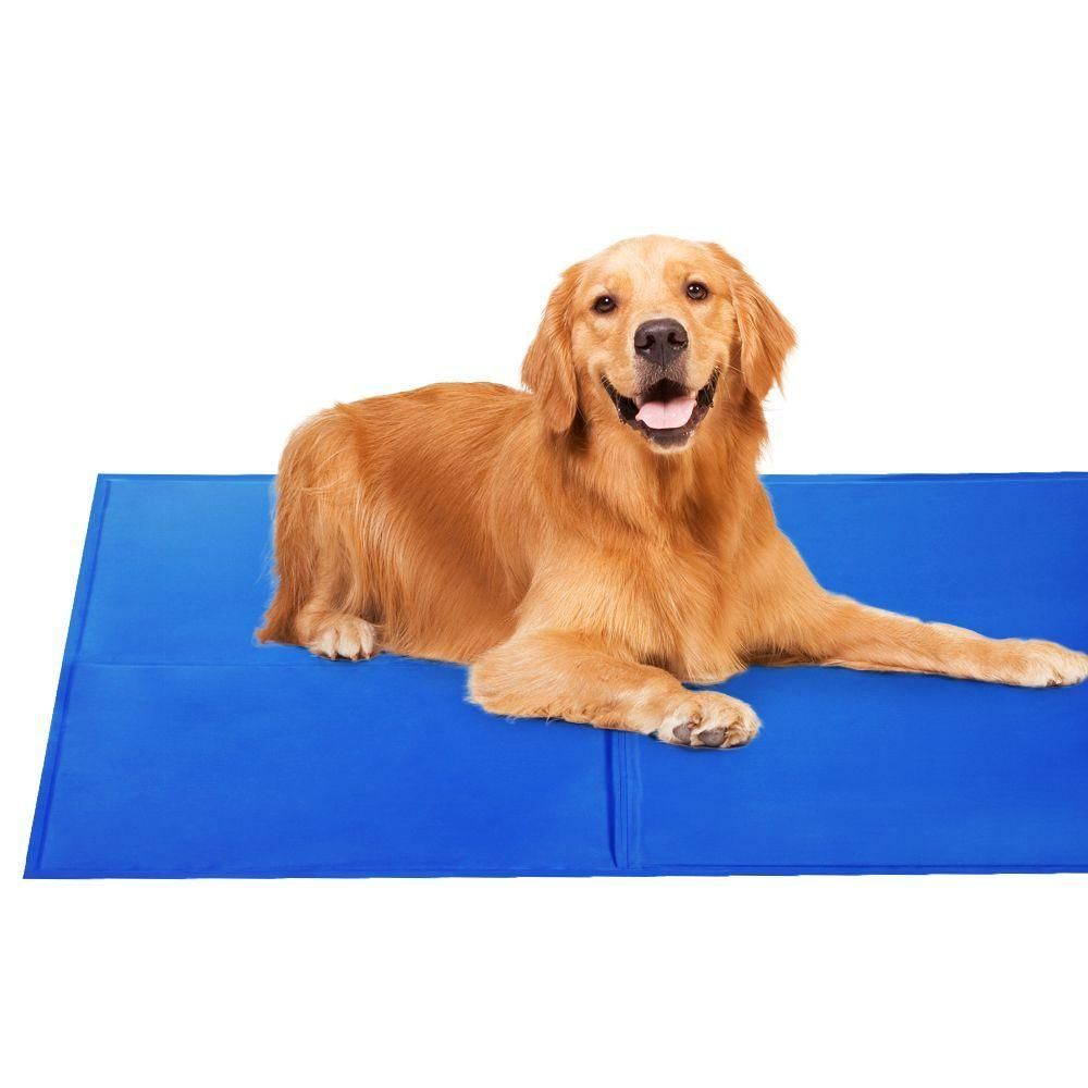 2x Pet Cooling Gel Mat Dog Bed Cat Beds Non Toxic Cool Pad Puppy