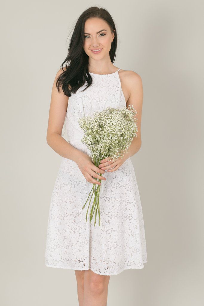 2cc3ace0aae Blair White Lace Dress