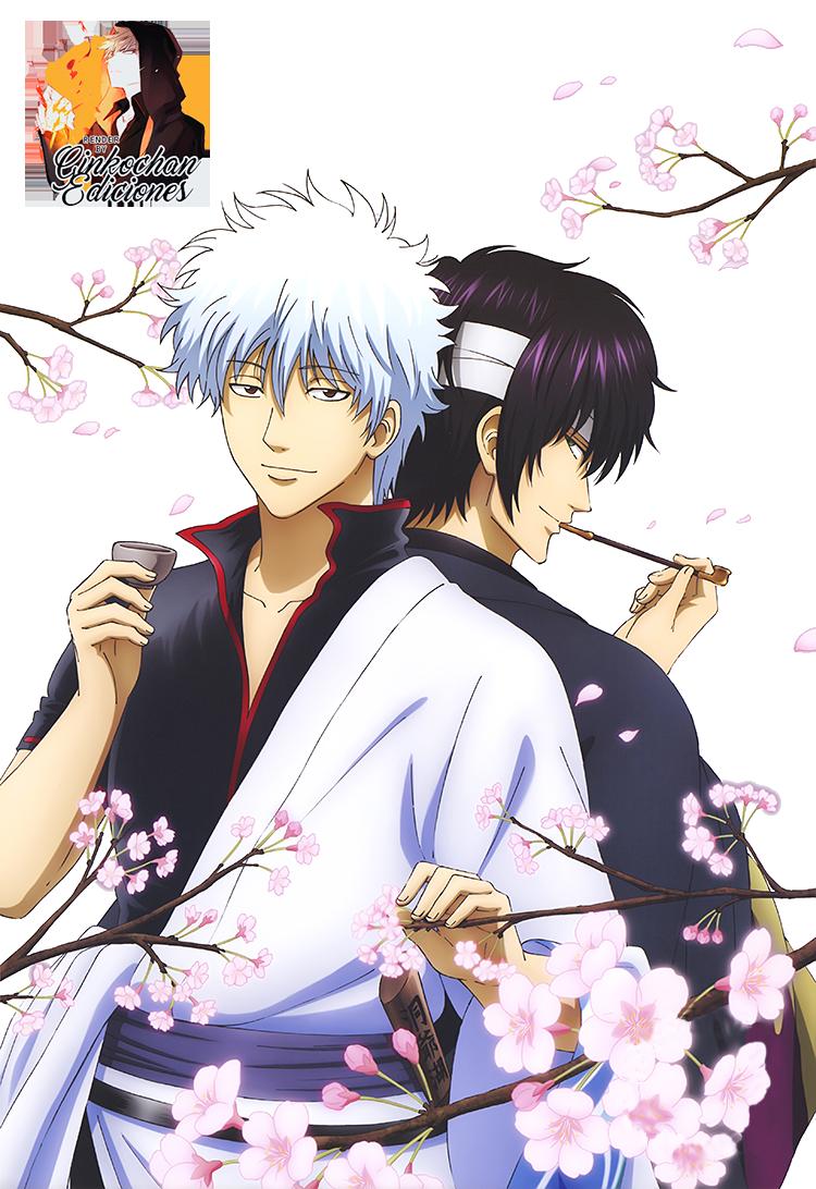 render_gintoki___takasugi__gintama__by_ginkochan_ediciones