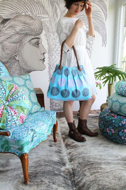 FREE bag purse pattern - \'For Pleat\'s Sake\' Tote   Taschen nähen ...