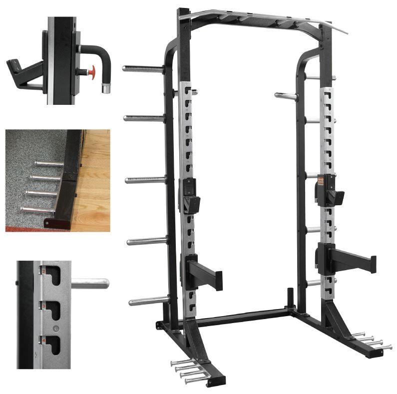 Product New Pb Extreme Half Rack Half Rack At Home Gym Diy Gym