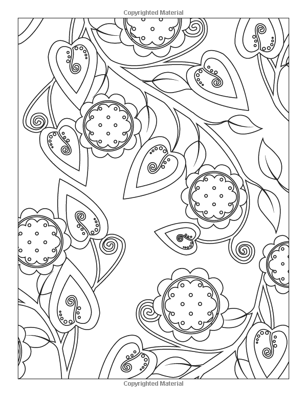 Playful Designs Coloring Book: 18 Fun Designs + See How Colors Play Together + Creative Ideas: Patty Young: 9781607059349: Amazon.com: Books