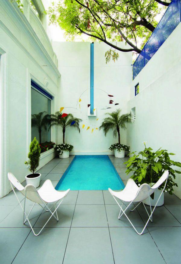 Piscinas peque as para patios peque os vol 4 patio chico for Piscinas en patios de casas