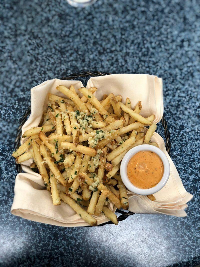 Pomme Frites Cafe Orleans Disneyland food #disneylandfood Pomme Frites Cafe Orleans Disneyland food #disneylandfood