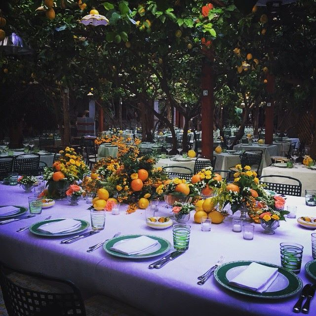 #capriparty #specialcelebration #mediterraneanparty #cunderthelemontree #mediterraneaninspiration #cistrusdecor