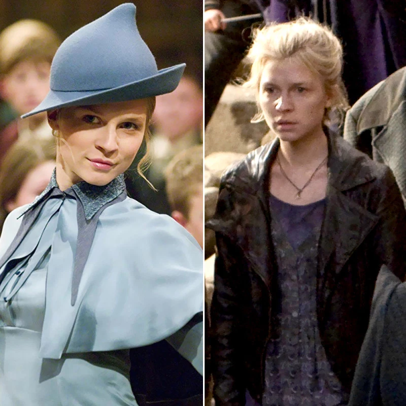 Harry Potter Stars From Sorcerer S Stone To Deathly Hallows Part 2 Clemence Poesy Harry Potter Clemence Poesy Harry Potter