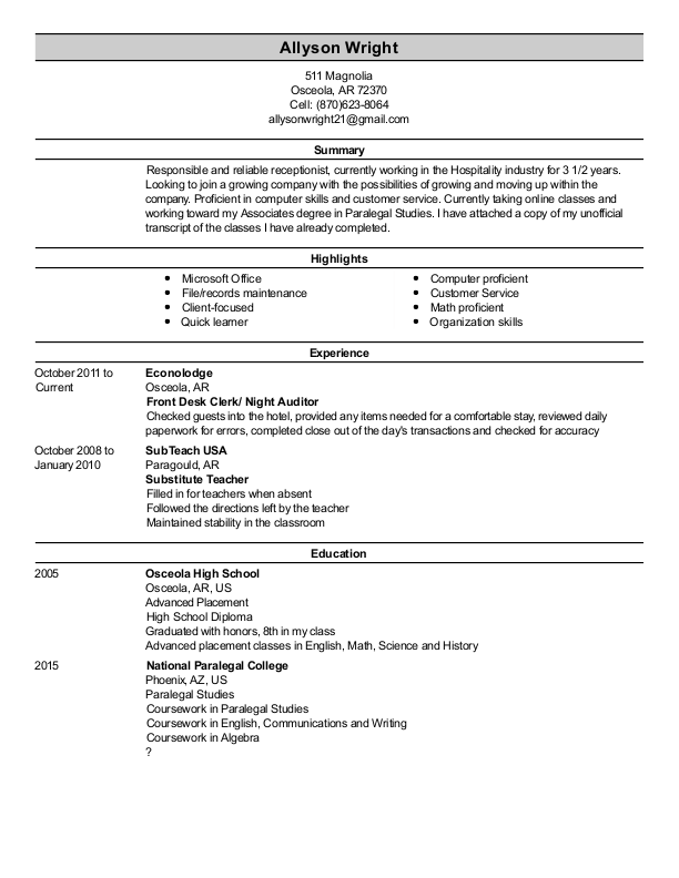 Resume Preview | random | Lab report, Book art, Used books