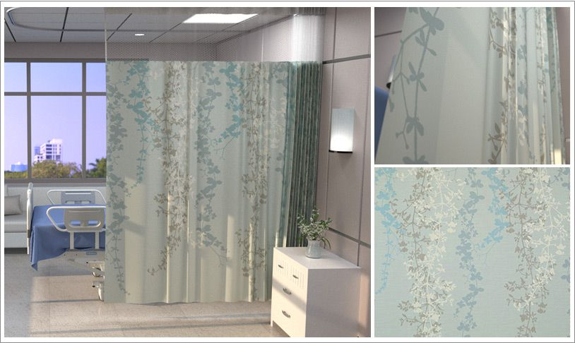 Flourish Cubicle Curtain Fabric Cs Curtains