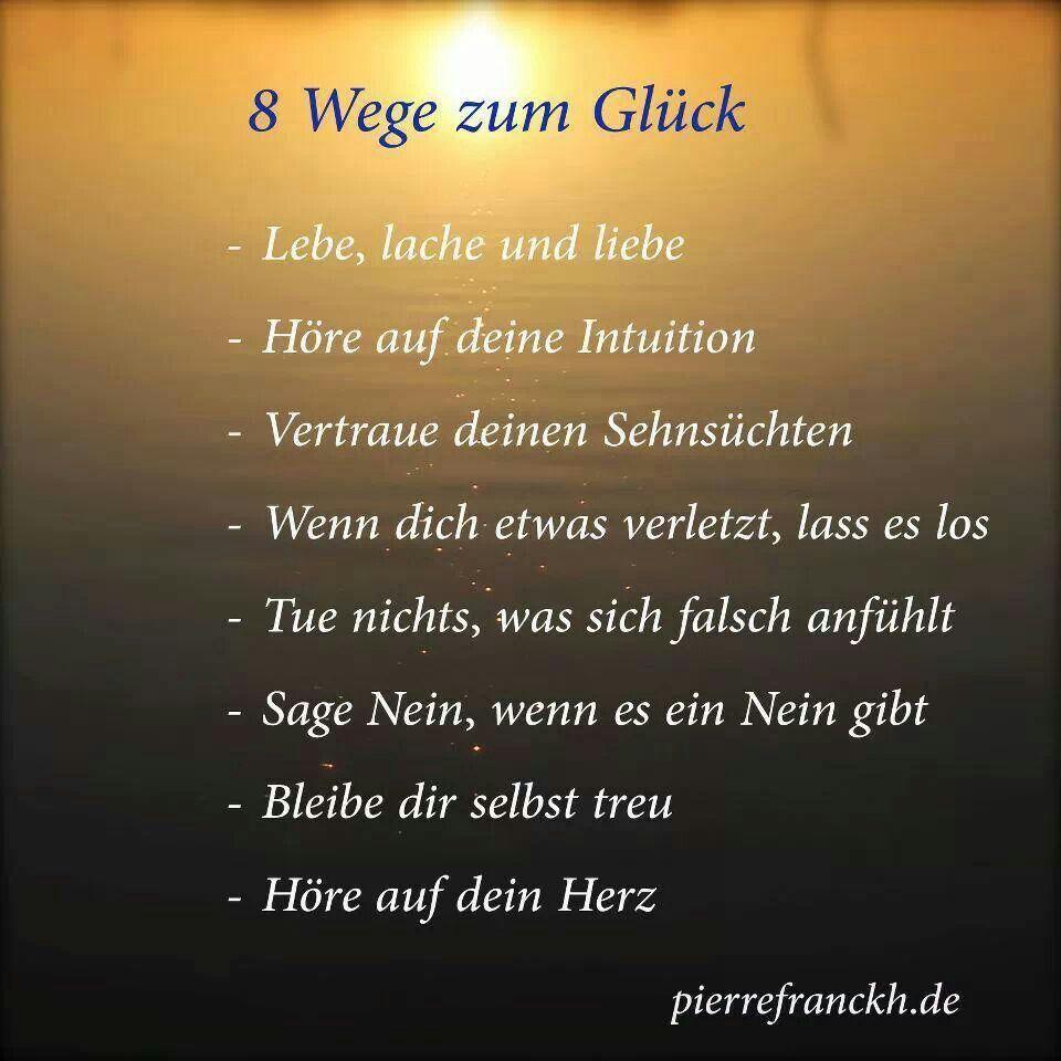 8 Wege Zum Gluck Quotes Quotes Sayings Und Happy