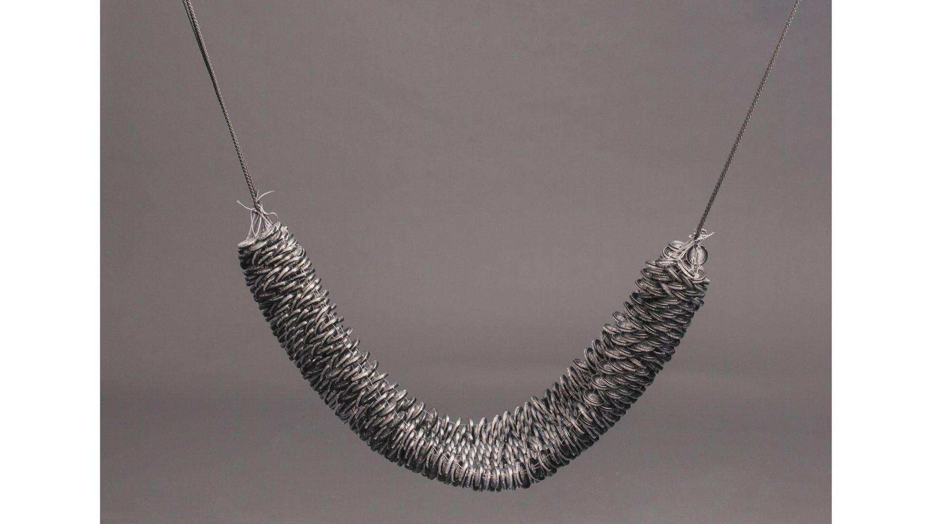 Swing of buttons by Zuzanna Bujacz and Redziewiarstwo group