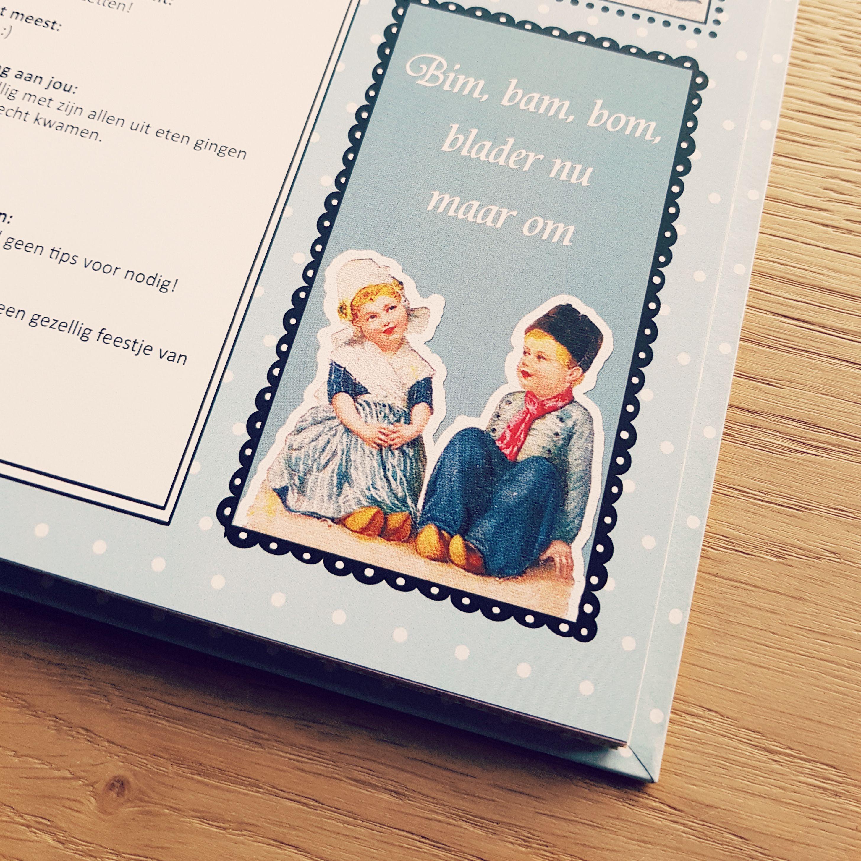 Kado Kadoidee Cadeau Cadeauidee Vriendenboek Boekdesign