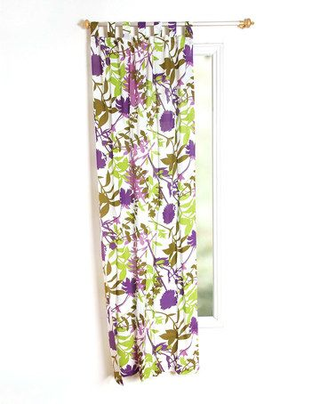 Take A Look At This Green U0026 Purple Jungle Curtain Panel By Karma Living On #