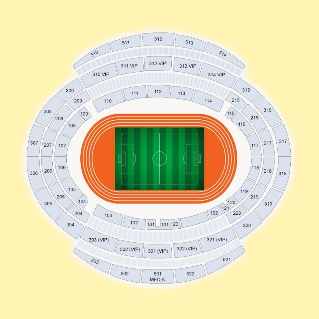 Seating Plan At The Etihad Stadium Seating Plan World Athletics How To Plan