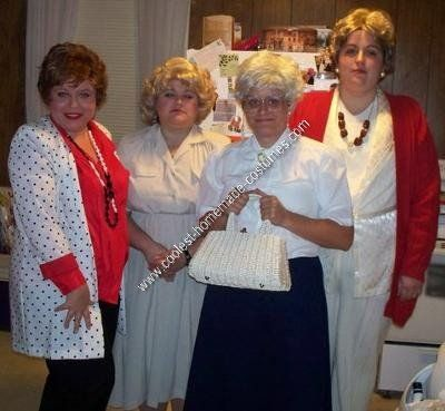 0ef82f7a0 Homemade Golden Girls Group Costume Idea | Golden Girls! | Golden ...