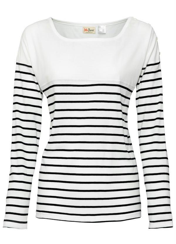 f9c40dee2 camiseta manga longa listrada branco e preto - Pesquisa Google ...