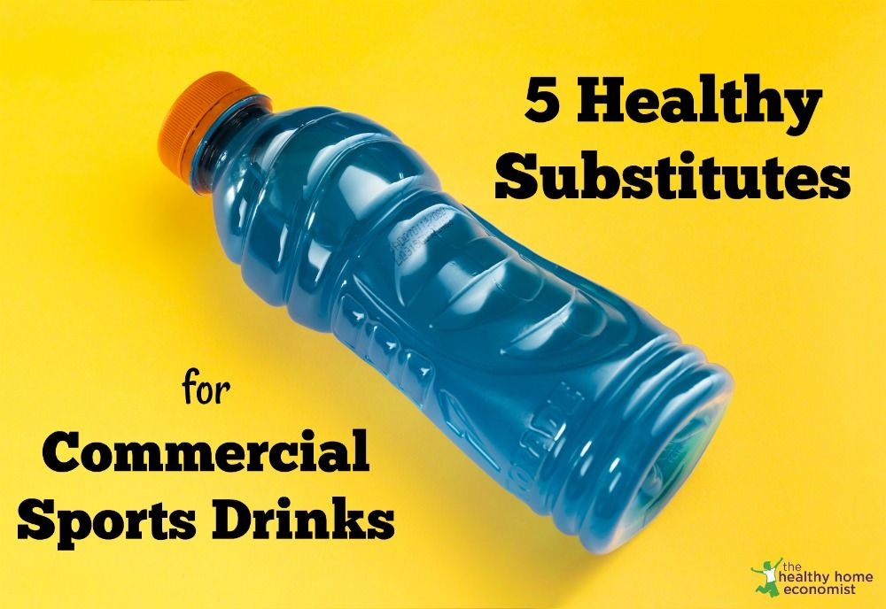 5 Easy Alternatives to Commercial Sports Drinks Sports