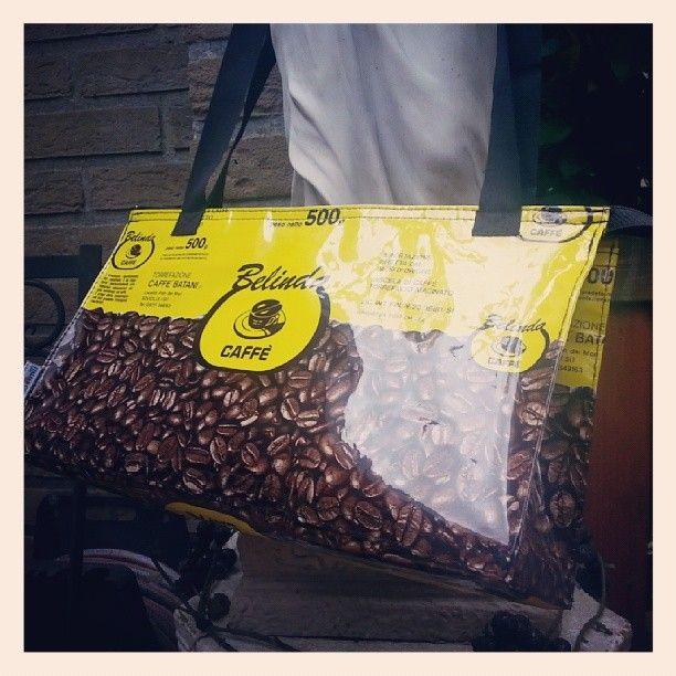 Nieuwe #verkoopadressen #gezocht voor onze #duurzame #Italiaanse #Koffie #Handtassen