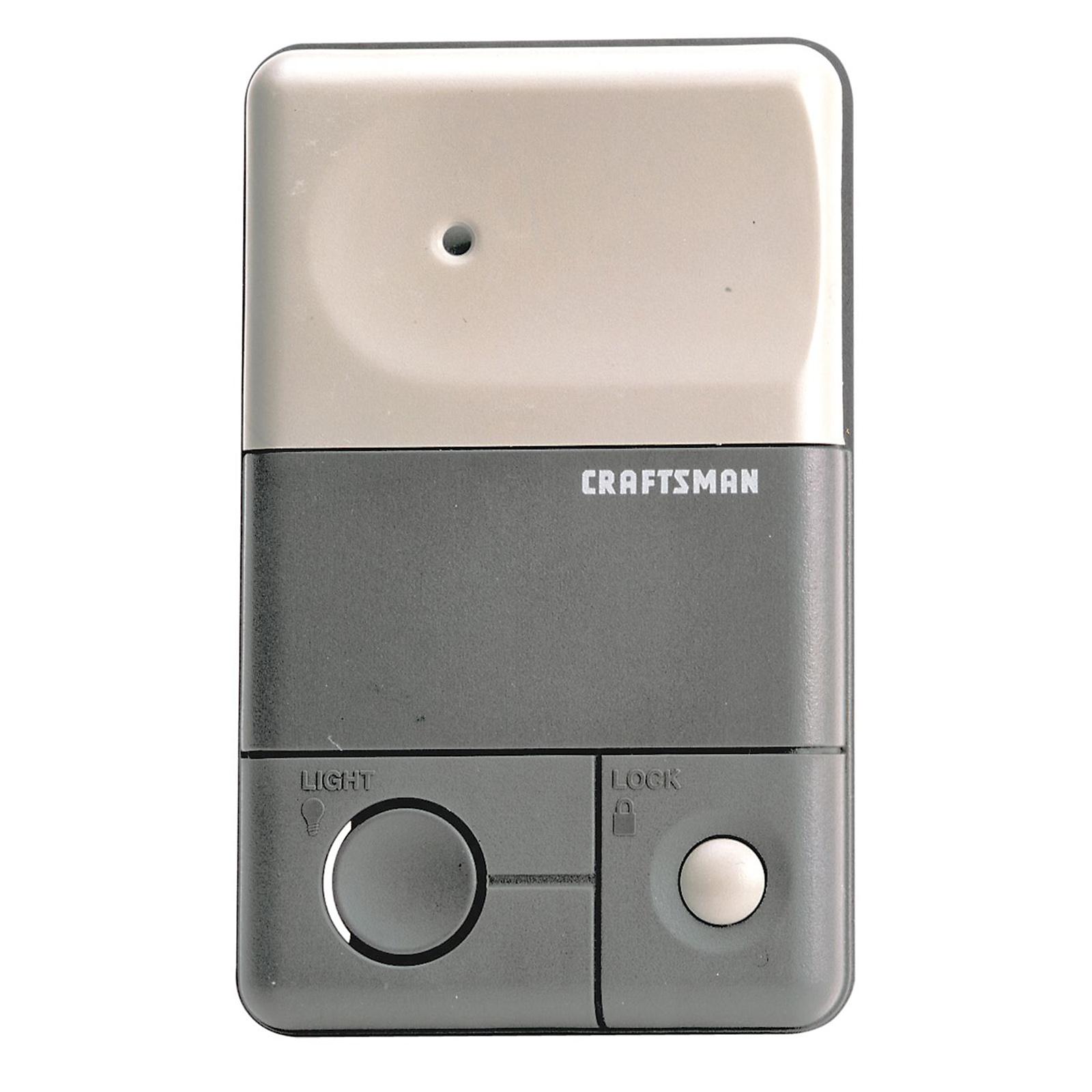 Craftsman Control Console Premium Tools Garage Door Openers