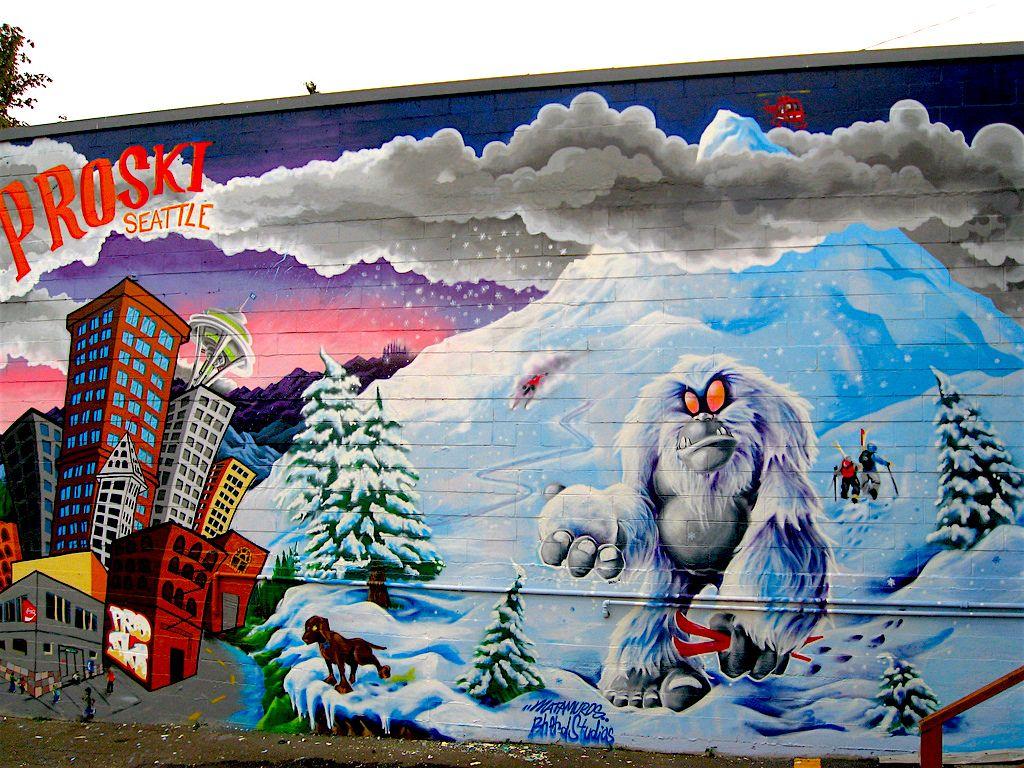 Graffiti wall tacoma - Bold Pop Your Guide To Colorful Walls Seattle Tacoma Wa