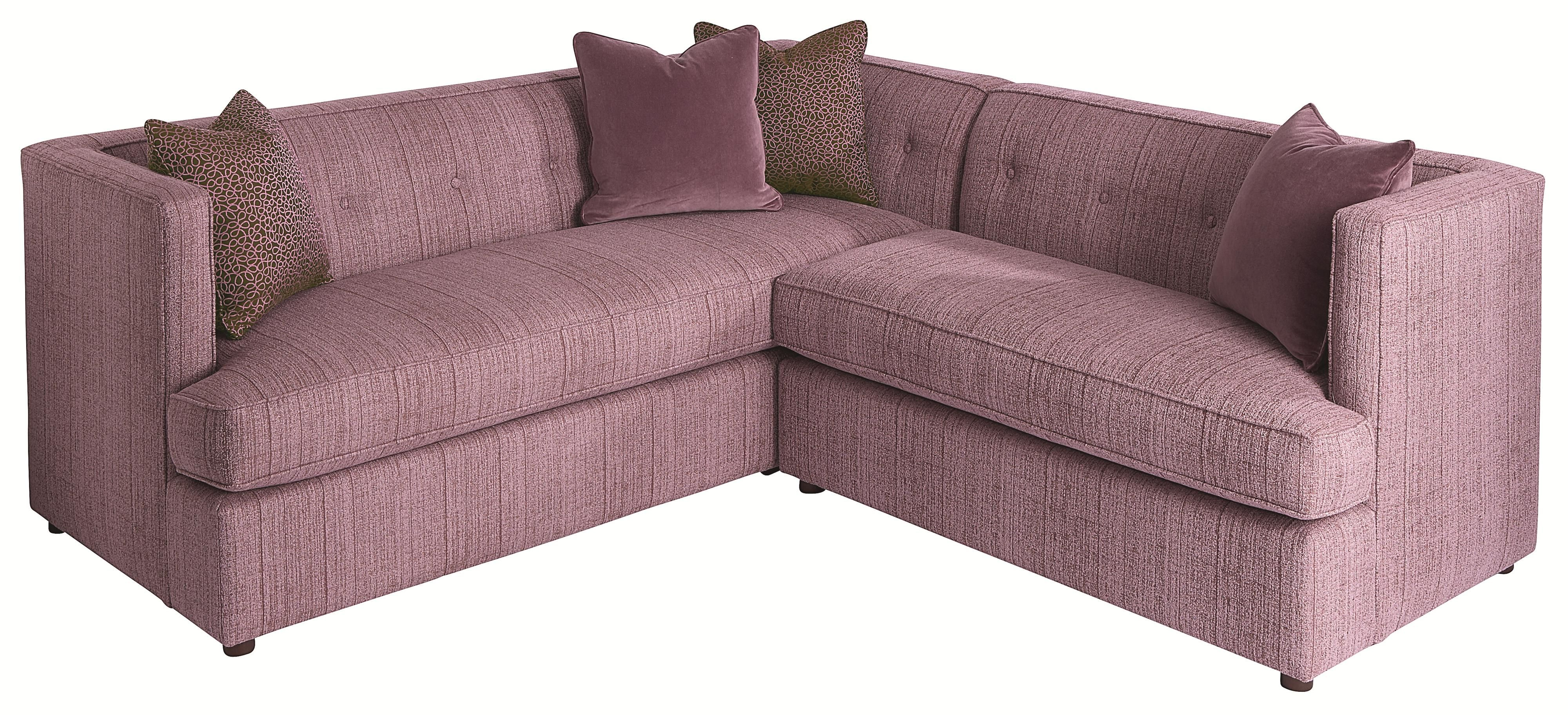Upholstery Diva Divine Contemporary Sectional Sofa By HGTV Home Furniture  Collection