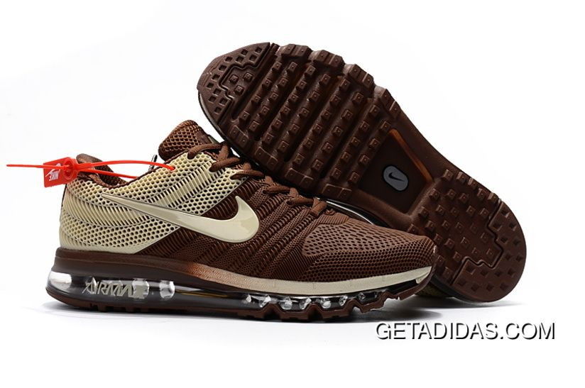 Air Max 2017 Running Shoes Brown Beige TopDeals | Tenis
