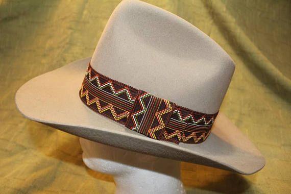 202d1ca57e1 Vintage Dynafelt Tan Fur Felt Western Men s Cowboy Hat Wide Brim ...