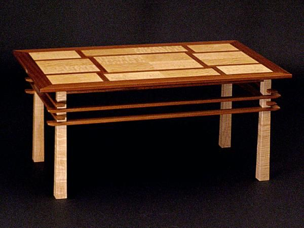 Asian Inspired Coffee Table By Russ Riddle Table Wood Projects