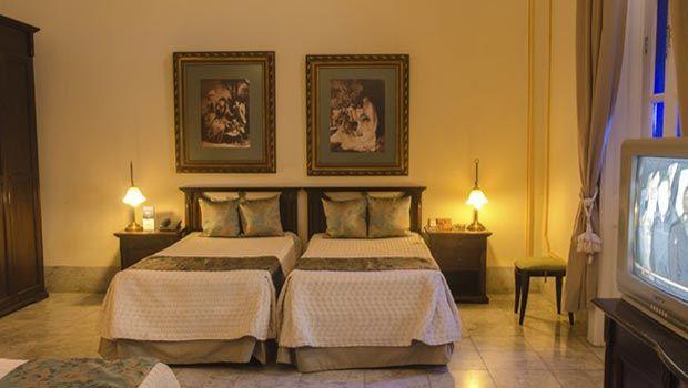 Una estancia en el Hotel San Miguel debe ser muy similar al privilegio de hospedarse en la mansión privada de alguien, todo un gusto para aquellos que prefieren los lugares pequeños e íntimos. #habana #cuba #hotel