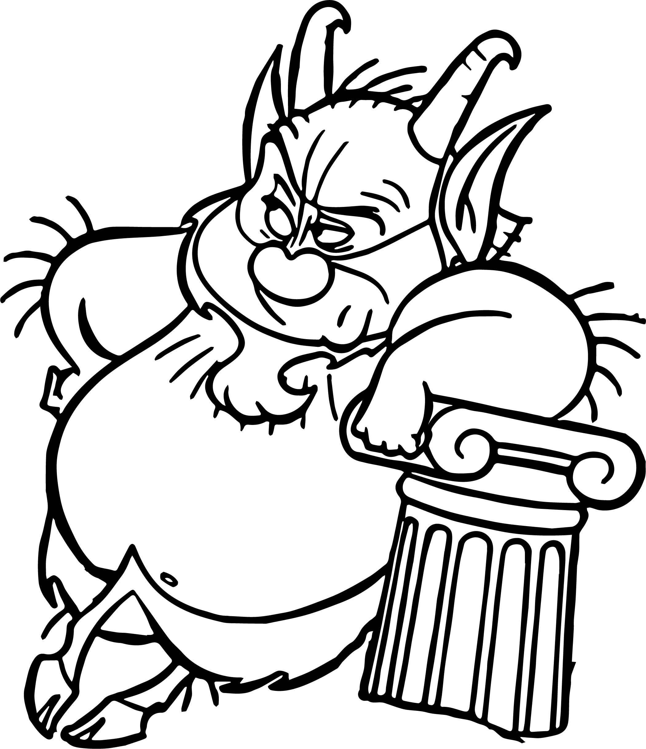 Nice Phil Hercules Lean Coloring Page Coloring Pages Cool