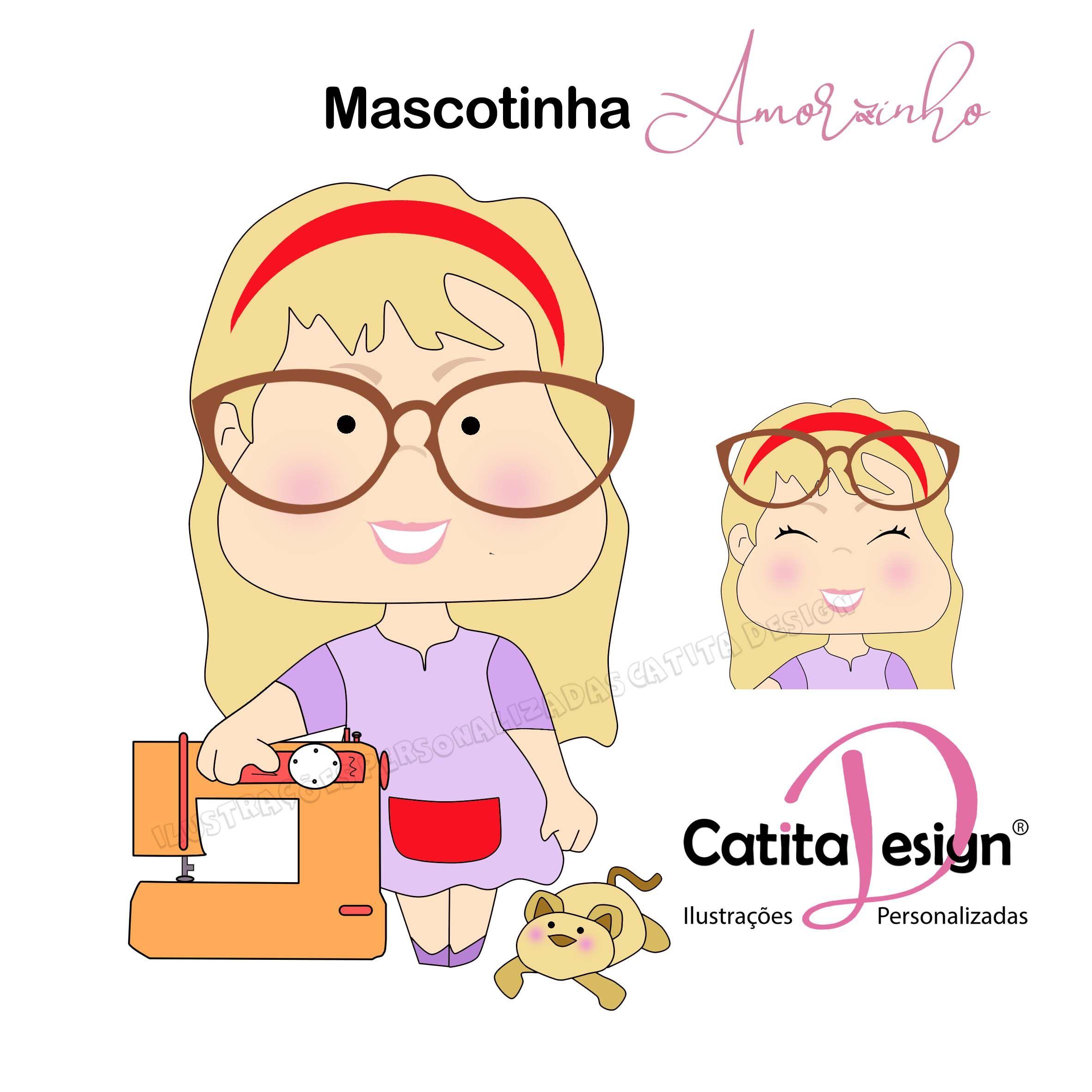 Mascotinhas Catita Design em 2020 Ilustrações,