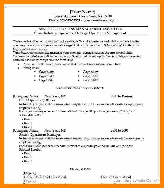 creative resume template openoffice