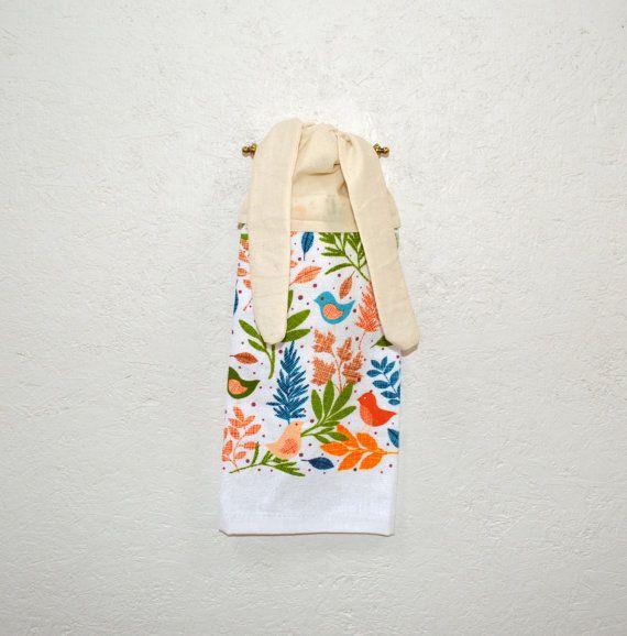 Kitchen Hand Towel Hand Towel Tie On Towel Towel By SuesAkornShop, $6.00