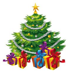 Stock Image Holidays In 2020 Cartoon Christmas Tree Christmas Tree Images Photo Christmas Tree