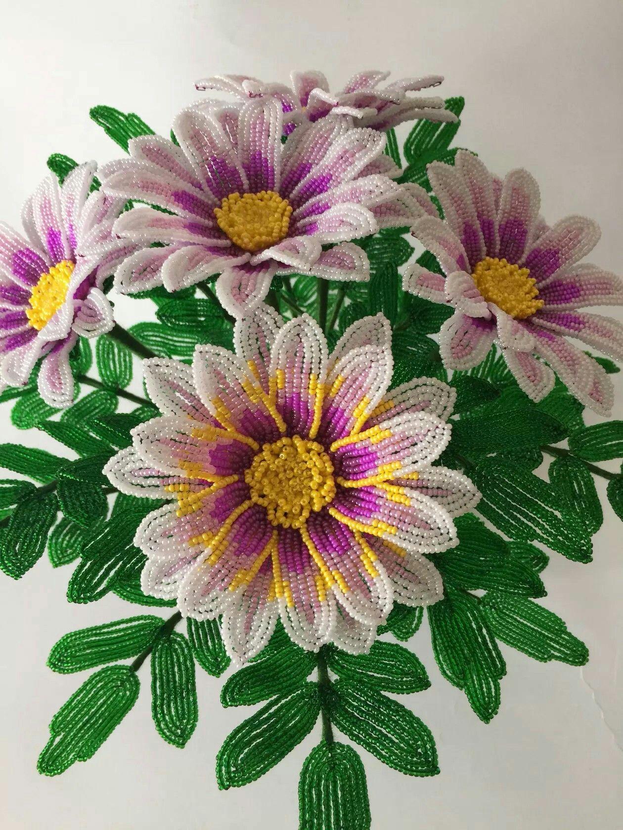 Pin von Asiral Couture Flowers auf Beading Flowers | Pinterest ...
