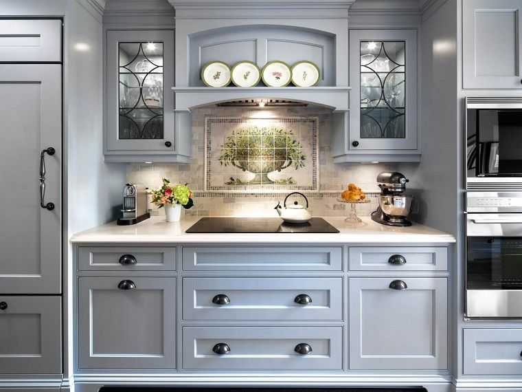 cucina-stile-inglese-focus-zona-cottura | Arredamento nel ...