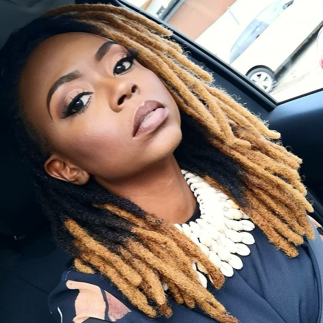 Goals Black Women Dreadlocks Blonde Dreads Locs Hairstyles
