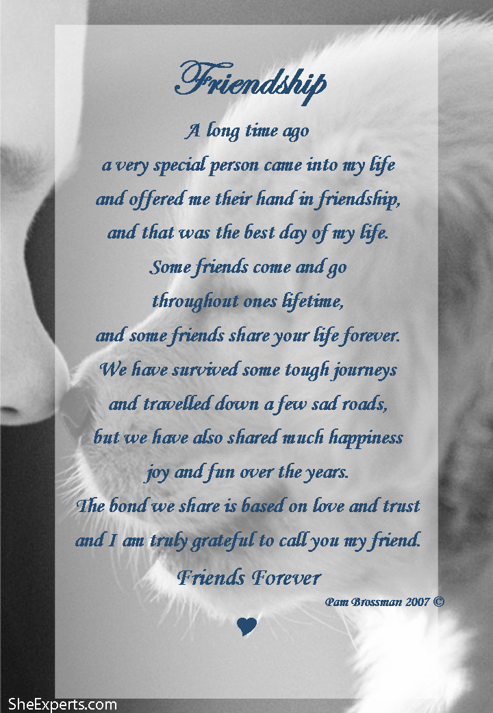 Best Birthday Quotes For Friend In English: Friendship Poem. Welcome To Repin And Share Enjoy