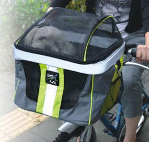 Cruising Small Dog Bicycle Carrier and Pet Basket for Biking - Cross Peak Products