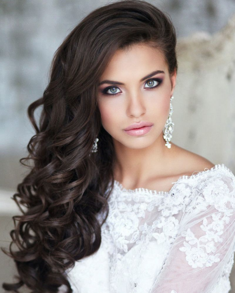 wedding-hairstyles-long-curly-down-800x995 (800×995) | someday