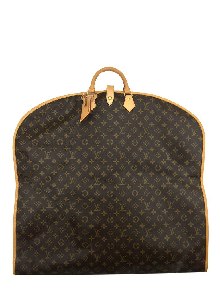 1f574d0621de This is an authentic Louis Vuitton Monogram Canvas Garment Travel Bag  crafted in signature LV monogram
