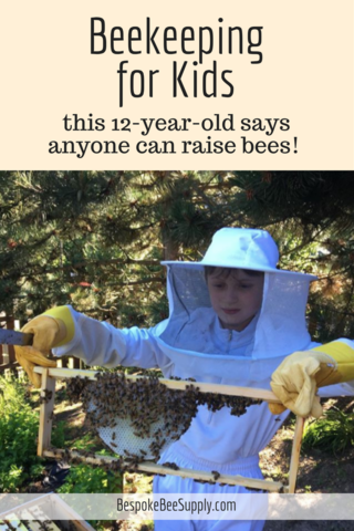 Beekeeping for kids: Anyone, even children, can raise bees ...