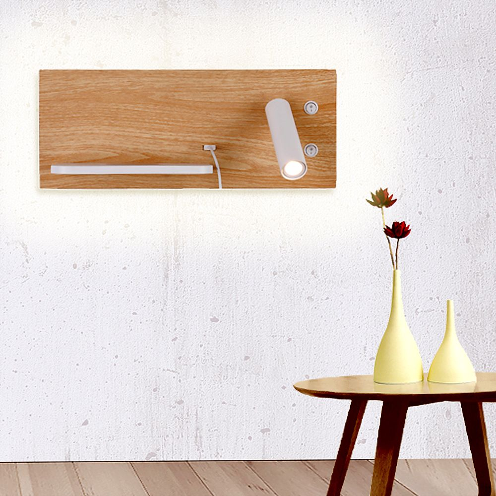 Wireless Charger Mood And Reading Wall Lamp For Guestroom Bed Side Reading Wall Lamp Bedside Wall Lamp Lamp