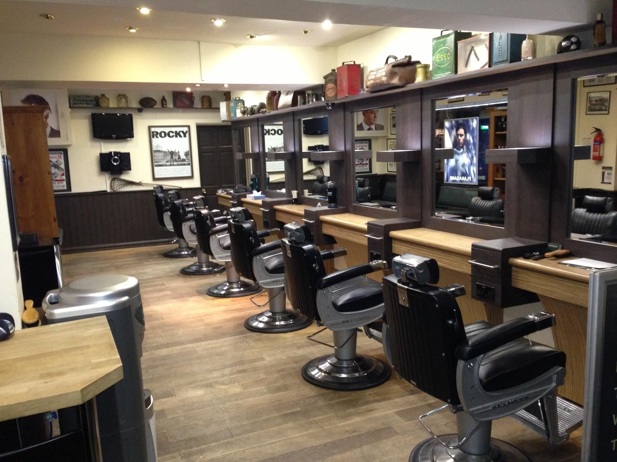Barber shop ideas - Cool Up To Date Barbershop