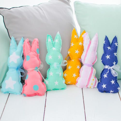 Photo of Sewing Easter Bunnies: Ideas and Instructions
