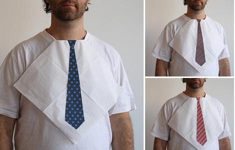 fake tie.