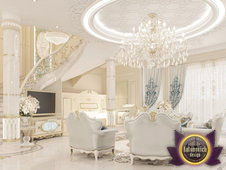 Luxury Interior Villa Design in UAE of Antonovich Design Katrina