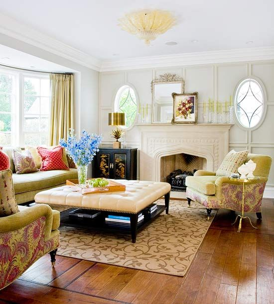 33 Traditional Living Room Design: 2013 Traditional Living Room Decorating Ideas From BHG