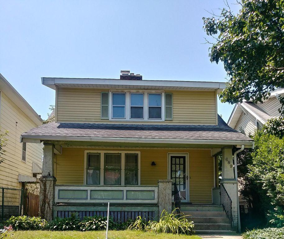 689 Thurman Ave, Columbus, OH 43206 Outdoor decor, House
