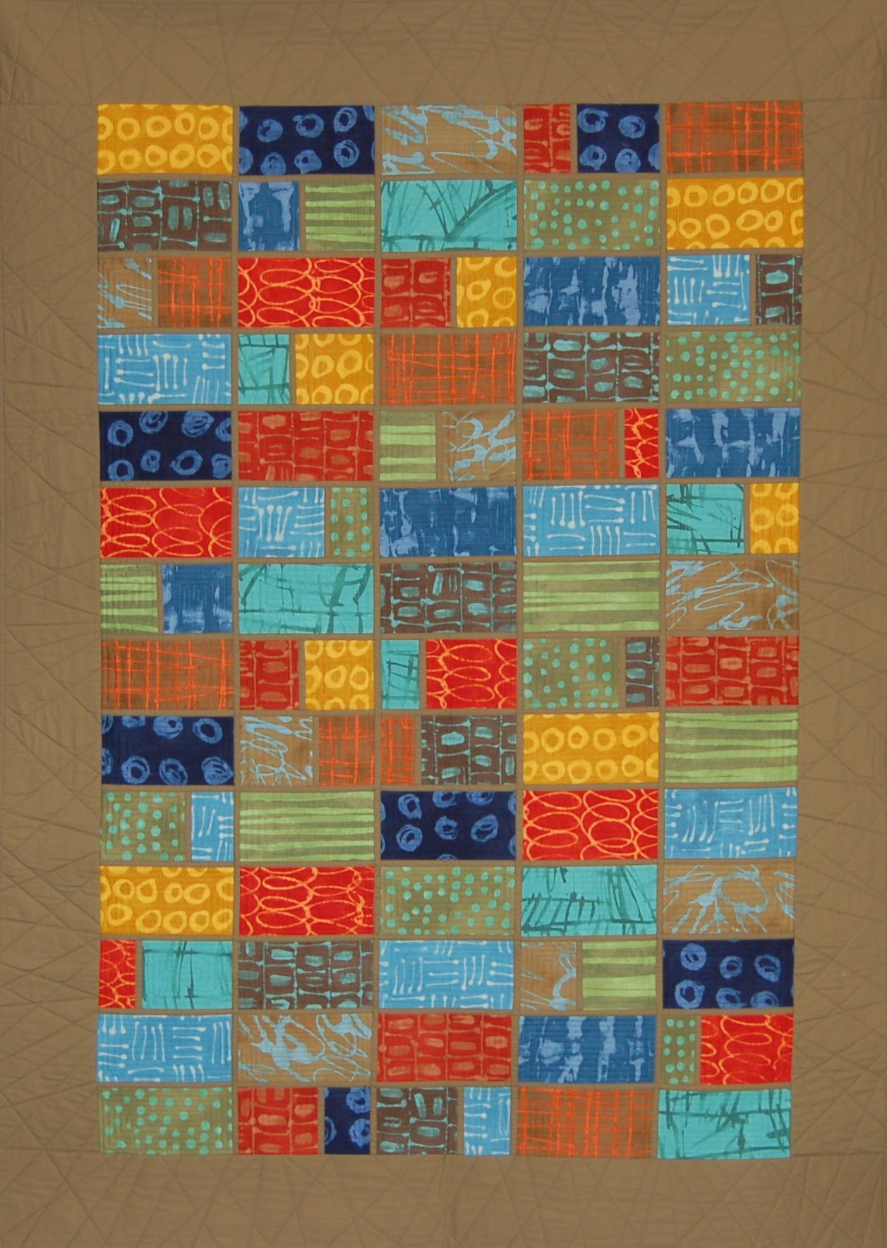 Acadia Marsha Derse Fabrics Modern Quilt Studio Pattern