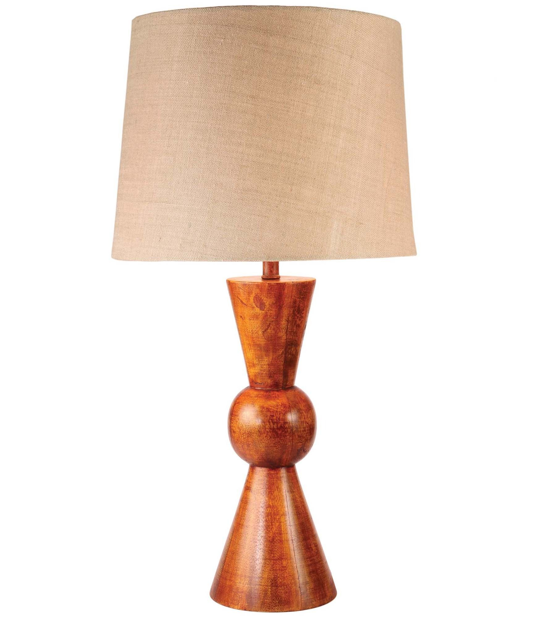 Hampton Bay 19 25 In Stick Table Lamp Brushed Nickel Finish Hw T2824lst Table Lamp Lamp Tiffany Style Table Lamps